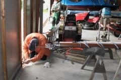 Reparatur Hallentore 2015